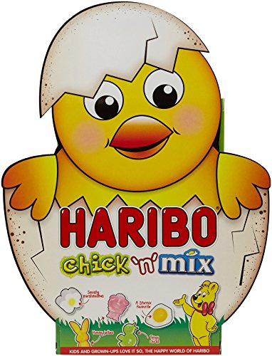 Haribo Chick-n-Mix Fizzy Fruit Flavour Gums, 232 g