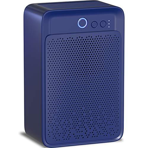 Luftentfeuchter, Elektrische 1000ml Entfeuchter, Geringer Energieverbrauch, Raumentfeuchter Leise Dehumidifier für Badzimmer,Schlafzimmer und Wohnzimmer