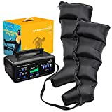 LiveFine Leg & Calf Air Massager | Foot & Calf Boots for Circulation and Relaxation | Advanced Exerciser for Feet, Calves, Knees & Quads with Pressure Control | Timer