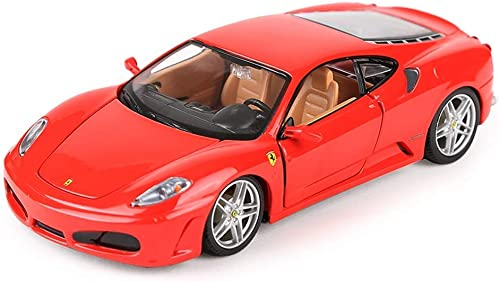 KKD Scale-Modellfahrzeuge Yanhong Modellauto Ferrari Modell Raffaoli 458 Sportwagen Modell Simulation Legierung Spielzeugauto Modell 1 24 Statisches Modell Geburtstagsgeschenk Mini Fahrzeuge