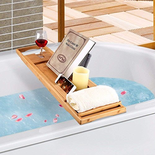 TILEMALL Bathtub Caddy