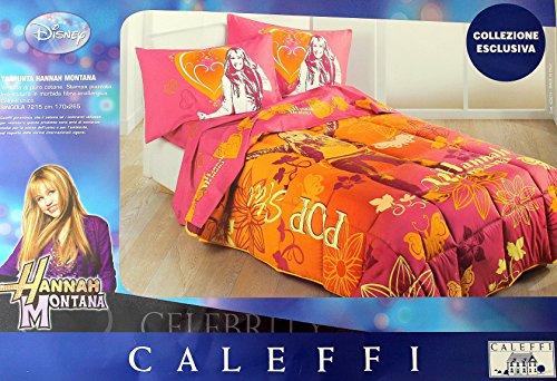 Caleffi Couette d'hiver Une Place 170 x 265 de la modèle Hannah Montana Orange