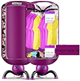 PFTHDE Clothes Dryer Electric Portable Folding Carried 900w 33LB...