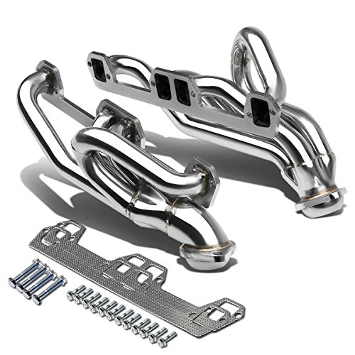 DNA Motoring HDS-DR96V8 Stainless Steel Exhaust Header Manifold, 1 Pack