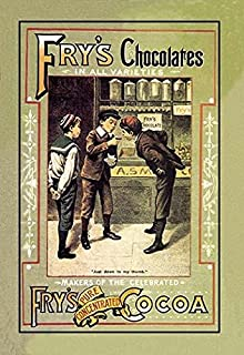 Advertising poster for Frys cocoa Entitled Just Down to My Thumb J S Fry & Sons Ltd?was a British?chocolate?company owned ...