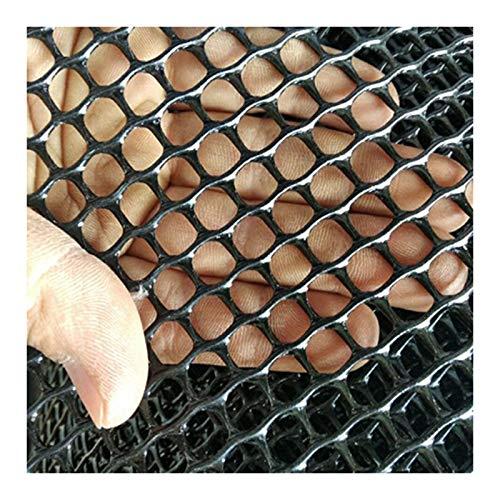 LinLiQiao Red de protección contra caídas para balcón infantil para plantas y flores, red de protección para gatos y escaleras, color negro, 0,5 x 6 m (apertura de 0,8 cm, color: negro)