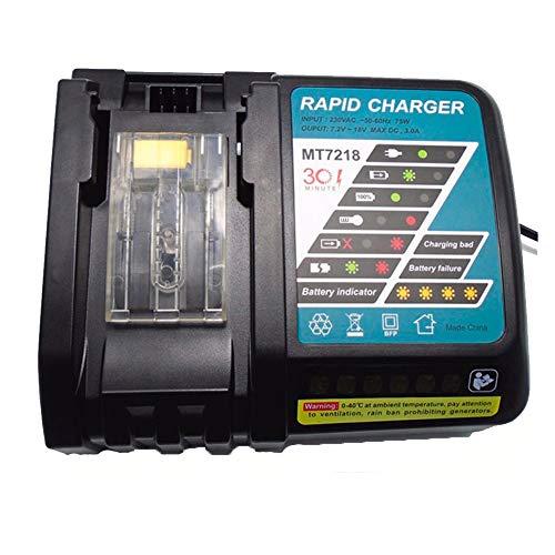 strumento elettrico 14.4V-18 V 6.5 Ah carica batteria per Makita bl1415,BL1815, BL1830, LXT400,194066 – 1,194065 – 3, bl1430,194205 – 3,194309 – 1,