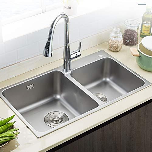 Kitchen Sink. Fregaderos de un Seno Fregadero de la Cocina de la...
