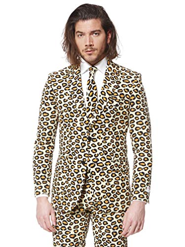 OppoSuits The Jag Leopard Kostüm (UK 50/EU 60)