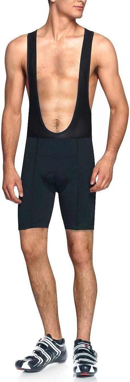 BALEAF Men's Cycling Bib Shorts 3D Padded Bike Shorts UPF 50+