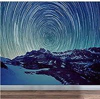 Bosakp ヨーロッパの海の世界写真印刷壁紙ロールリビングルームの寝室の家の壁の装飾的な風景壁画 360X250Cm
