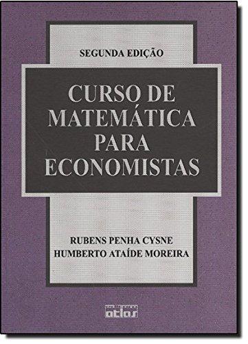 Curso de Matemática Para Economistas