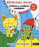 Lettres et nombres magiques, moyenne section : Cahier double