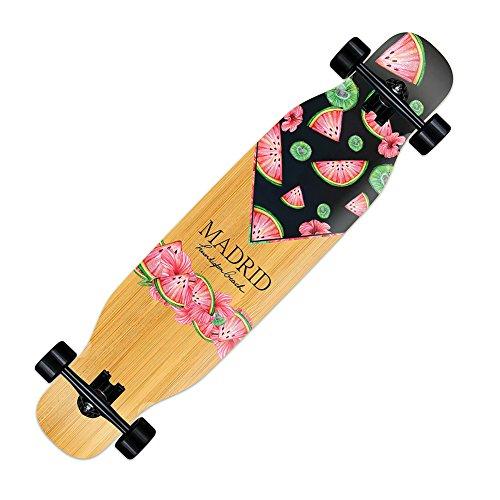 Madrid Skateboards Paddle Dancer Freestyle Complete Longboard - 'Summer Breeze' Grafik