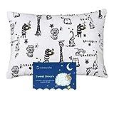 Toddler Pillow with Pillowcase -...