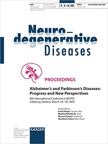 Alzheimer's and Parkinson's Diseases: Progress and New Perspectives: 8th International Conference on AD/PD, Salzburg, March 2007: Proceedings. Special ... Diseases 2008, Vol. 5, No. 3-4