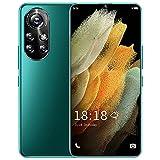PENNY73 Teléfono Celular 5G Nova8 Pro 6.8Inch Smartphone 8 + 256GB Pantalla Completa 24MP + 48MP Soporte Desbloqueo Facial 6500mAh Teléfono Móvil Dual SIM,Green