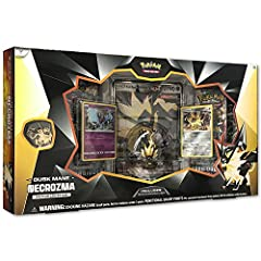 UNLEASH THE POWER OF DUSK MANE NECROZMA - Dusk Mane Necrozma controls both the body and mind of the Legendary Pokémon Solgaleo, devouring Solgaleo's light energy forcibly. Build up your pokedex - add this Psychic/steel Type legendary Pokemon to your ...