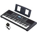 ヤマハ キーボード PSR-E373 61鍵盤 622音色 自動伴奏 9ステップのレッスン機能 タッチレスポンス