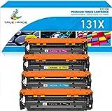 True Image Remanufactured Tonerpatrone Replacement für HP 131X CF210X 131A CF210A Toner für HP Laserjet Pro 200 Color MFP M276nw M276n M251nw M251n 128A CE320A CM1415FN CP1525N 125A CB540A CP1215
