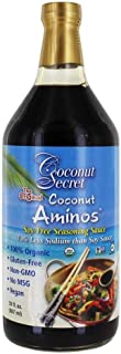 Coconut Secret - Coconut Aminos Soy-Free Seasoning Sauce - 30 fl. oz.