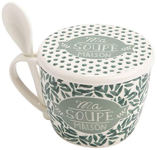 Bol à soupe en porcelaine Eucalyptus