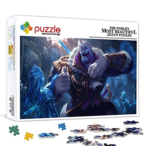 Mini Adult puzzle 1000 pieces The Frozen Prince Mundo game 15'x 10' Puzzle in Cardboard,Family Games, Games for Adults, Home Decor Jigsaw Puzzle