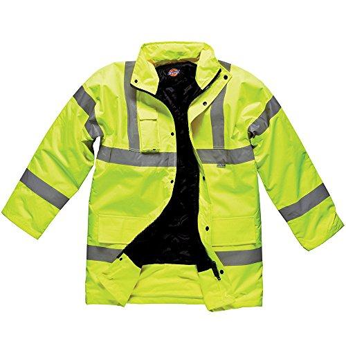 Dickies Premium Motorway Hi Vis Jacket/Heren Werkkleding