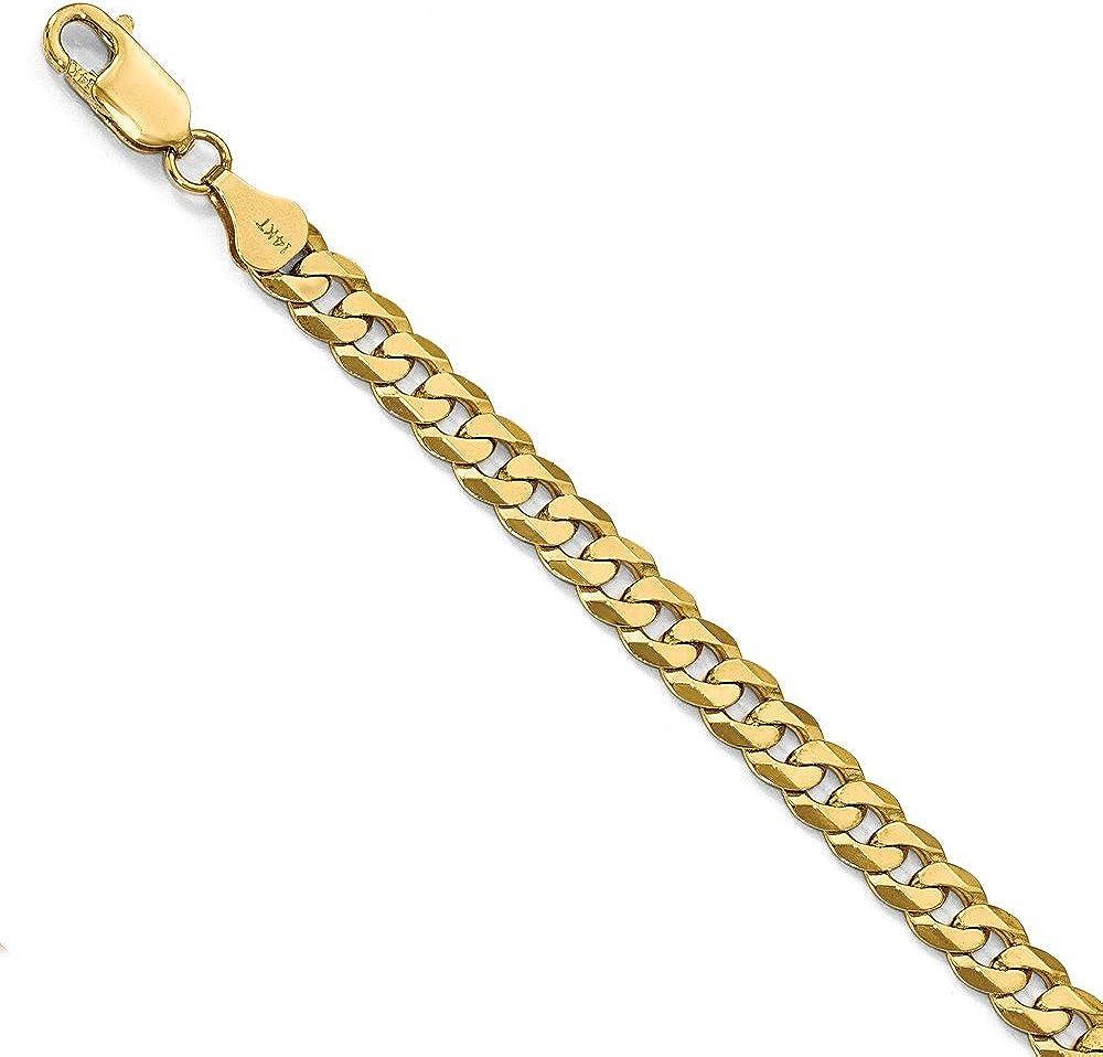 Diamond2deal leslie`s ,bracciale per uomo  in oro giallo 14 kt/585(14,33 gr)