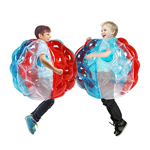 SUNSHINE-MALL Colourful Bumper Balls for Kids,Buddy Bubble Balls for Kids,Giant Human Hamster...