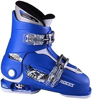 Roces 2018 Idea Adjustable Blue/White Kids Ski Boots 19.0-22.0