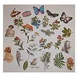 Vintage Sticker, Washi Sticker Vintage, Fotoalbum
