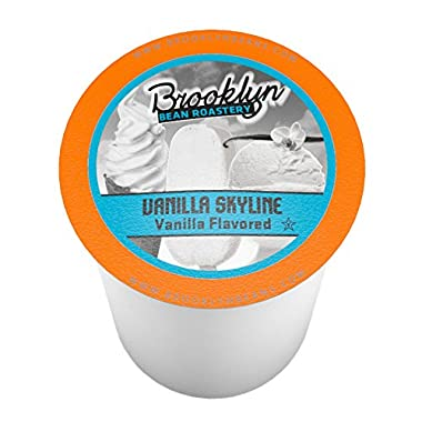Brooklyn Beans Vanilla Skyline Single-Cup coffee for Keurig K-Cup Brewers, 40 Count