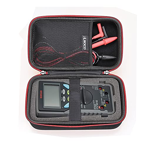 RLSOCO収納ケースsanwa デジタルマルチメータ PC7000/CD771/PC773/ PC720M、三和電気計器 LCRメータ LCR700対応