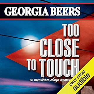 Too Close to Touch audiobook cover art