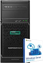 HP ProLiant ML30 Gen10 Business ERP Server for Finance and Operations with Operating System, Intel Xeon 4-Core 3.5GHz, 64GB DDR4 RAM, 8TB SSD, RAID, Windows Server 2016