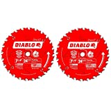 Diablo D0724P 7-1/4-Inch 24 Tooth ATB Carbide...