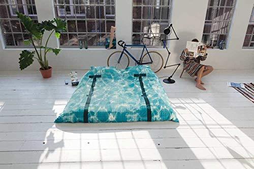 Freudenhaus Parure de lit Motif piscine 135 x 200 cm