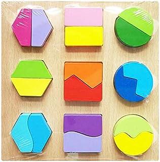 بازل خشبي لتعليم الطفل الاشكال الهندسية والالوان