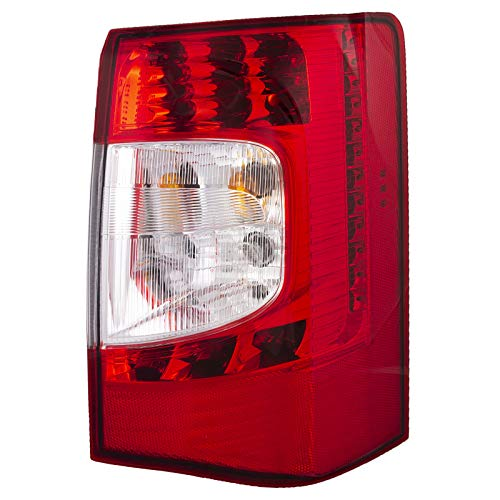 HEADLIGHTSDEPOT Tail Light Compatible with Chrysler Town & Country 2011-2016 Includes Right Passenger Side Tail Light