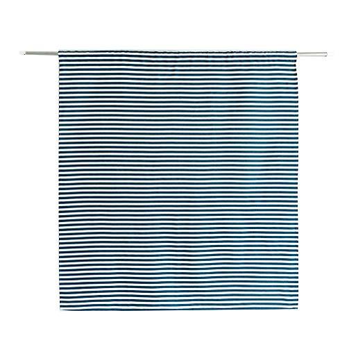 SADA72 Cortinas opacas para ventana, pequeñas cortinas térmicas aislantes para el sol, cortinas decorativas de moda cortas para la cocina y el balcón, A rayas, Tamaño libre