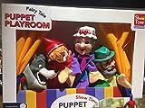 SHOW TIME Hand Puppet Theatre Playset – Teatrino de madera Caperucita Rojo