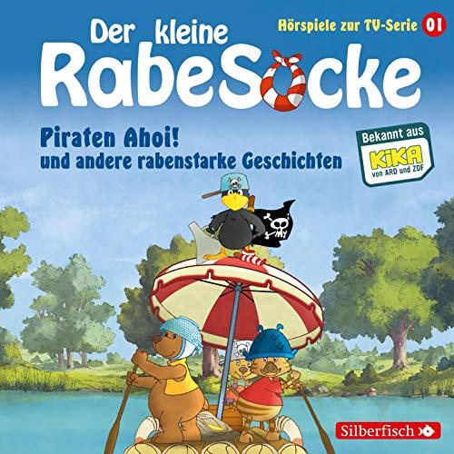 Piraten Ahoi!, Die Fußballwaldmeisterschaft, Das goldene Amulett (Der kleine Rabe Socke - Hörspiele zur TV Serie 1): 1 CD