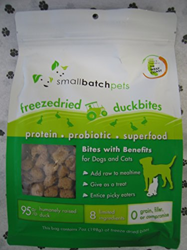 Small Batch Small Bites Freeze Dried Dog Food...