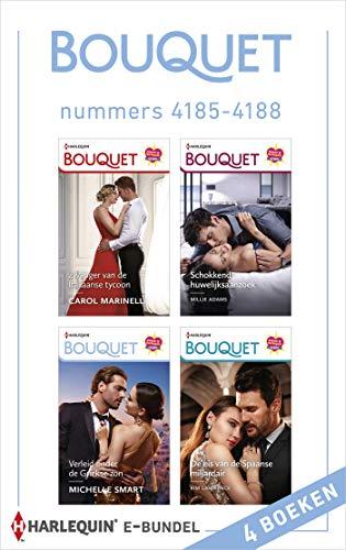 Bouquet e-bundel nummers 4185 - 4188 (Dutch Edition)