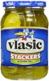 Vlasic Pickle Stackers, Kosher Dill, 16 Ounce