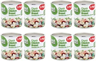 PACK OF 8 - Great Value Chunk Chicken Breast in Water, 12.5 oz, 2 Count