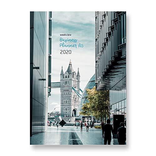 weekview Business A5-Broschur 2020 | mit Planungstools und freien Seiten für Bullet Journaling