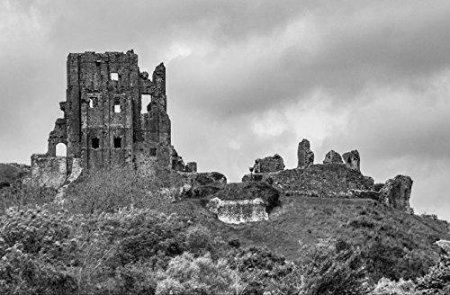 hansepuzzle 23936 Orte - Corfe Castle, 500 Teile in hochwertiger Kartonbox, Puzzle-Teile in wiederverschliessbarem Beutel.