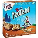 CLIF KID ZBAR - Protein Granola Bars - Peanut Butter Chocolate Flavor - Non-GMO - Organic -Lunch Box...